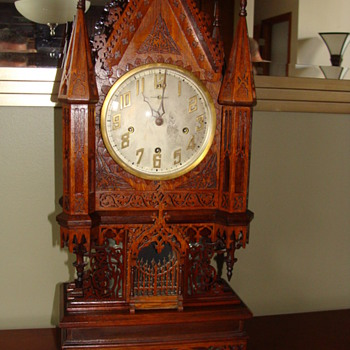 Fretwork Clock