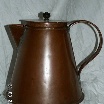 Antique Large Copper Water Pot ~ 1800's - Kitchen