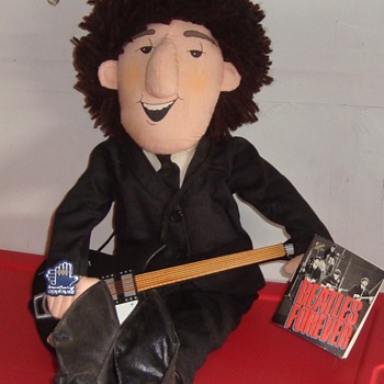 John Lennon Cloth Doll - Music Memorabilia