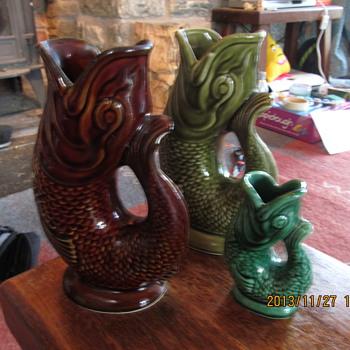 Gurgle jugs  - Pottery