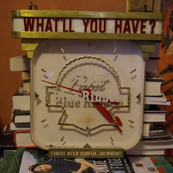 New lighted PBR clock for the collection - Advertising
