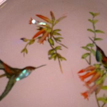 Asian  Bird Plate - Asian