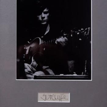 Stu Sutcliffe signature... - Music Memorabilia
