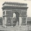 PARIS – L'ARC DE TRIOMPHE.