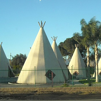 The Wigwam Motel Route 66 San Bernardino - Photographs