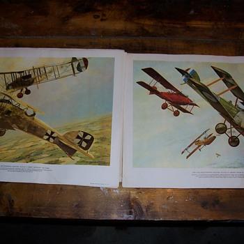 The Von Richthofen Legend 4 plate set - Posters and Prints