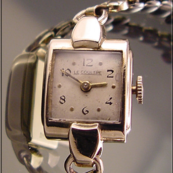 Ladies' Vintage Gold-Filled LeCoultre Wristwatch c.1920's - Wristwatches