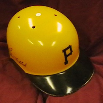Bill Madlock Autographrd Pirates Batting Helmet