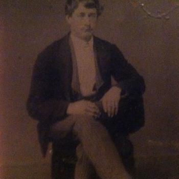 Tintype of gentleman