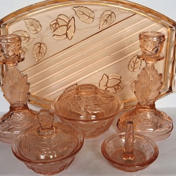 "Walther & Sohne Dressing Table Set - ""Waltraut"" - Art Deco"