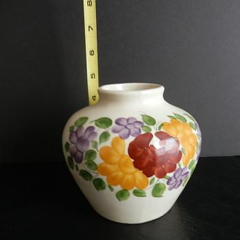 Polish stoneware/pottery vase - Pottery