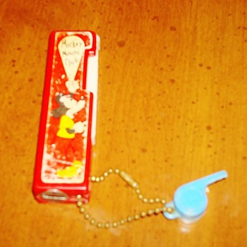 Mickey Mouse Club Flashlight and Whistle