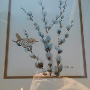 Water color bird - Fine Art