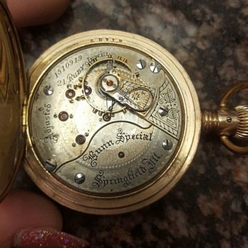 Illinois Watch Company Pocket Watch with 21 ruby jewels?? Bunn Special? - Pocket Watches
