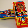Tin Toy Roulette Cars Made in Japan