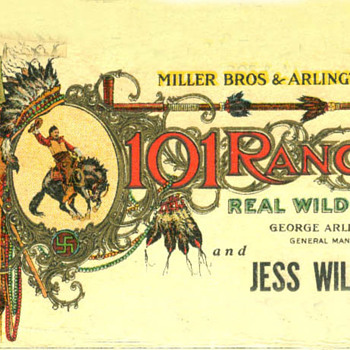 101 Ranch Wild West Show Poster - Posters and Prints