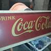 1939 metal Coca Cola sign