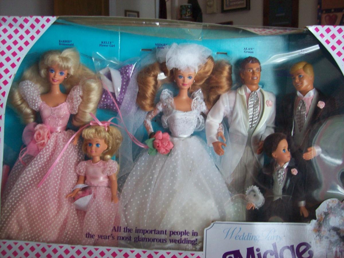 Midge\'s Wedding Party Gift Set (Barbie\'s best friend) | Collectors ...