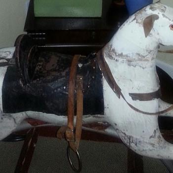 19th Century Family Rocking Horse