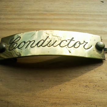 Erie Lackawanna Conductor Badge - Railroadiana