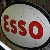 all day Road trip find 1953 ESSO Sign