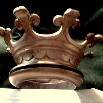 BRONZE CIEL DE LIT CROWN - BED CANOPY ADORNMENT - Furniture