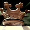 BRONZE CIEL DE LIT CROWN - BED CANOPY ADORNMENT