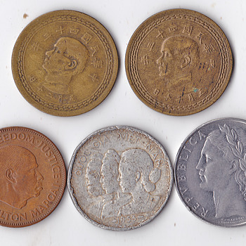 Another set of 4 - World Coins