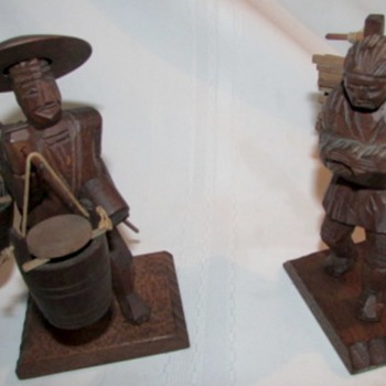 Old Wood Carvings   - Asian