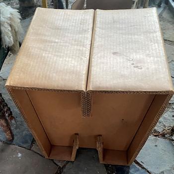 Very Thick Cardboard Furniture - a Stool - Furniture