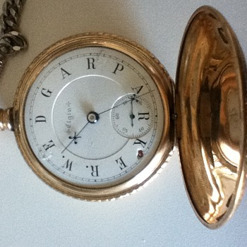 My B.W. Raymond with a name face - Pocket Watches