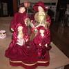 Vintage Christmas Carol singers