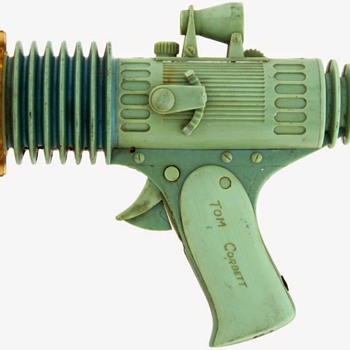 """Tom Corbett Space Cadet"" Atomic Pistol/Flashlite PROTOTYPE - Marx 1952. - Toys"