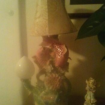 Gaudy Asian Fish Lamp - Lamps