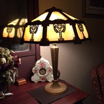 Heirloom Lamp From My Grandfather