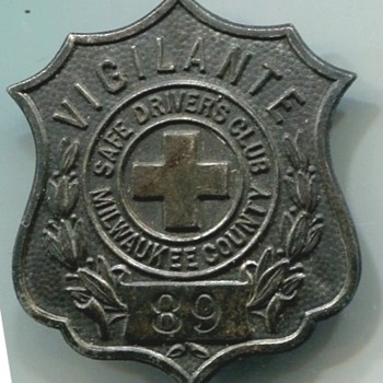 Milwaukee Vigilante Badge
