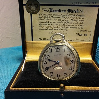 2 Hamilton pocket watches - Pocket Watches