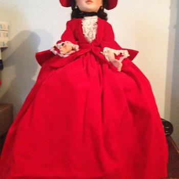 1962 Scarlet Portrait in Red Velvet