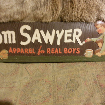 TOM SAWYER  apparal for real boys - Advertising