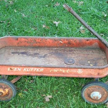 "Keen Kutter Wagon ""Rocket"" - Toys"