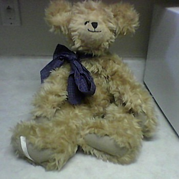 BUTTERSCOTCH  TEDDY BEAR - Dolls