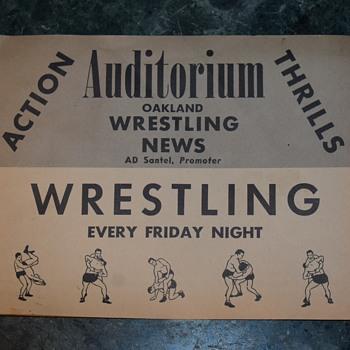 1959 Wrestling Magazine - Oakland! - Paper
