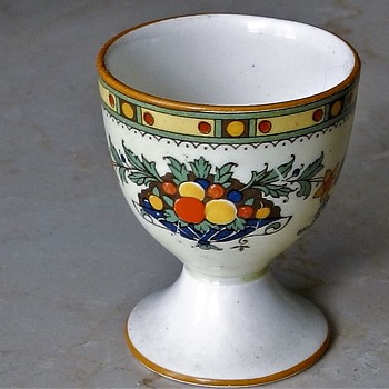 Crown Ducal Egg Cup A1476 pattern 1925 - Art Deco