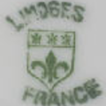 Limoges Company may - does anybody know which company and/or the name of the pattern? - China and Dinnerware
