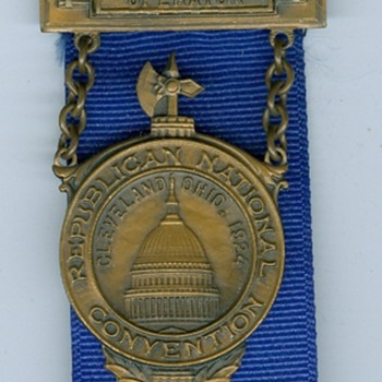 1912/1924 Republican National Convention Ribbons - Telephones