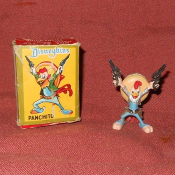 Disneykins Panchito With Box 1961 - Advertising
