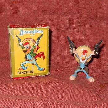 Disneykins Panchito With Box 1961 - Advertising