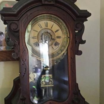 Ansonia Monarch Victorian Mantle Clock - Clocks