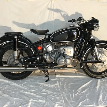 1967 BMW R69S (restored) - Motorcycles