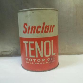 one quart sinclair can - Petroliana